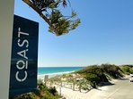 Port Beach and Coast Restaurant are close by