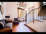 Villa Interior, stairs (1st to 2nd Floor)