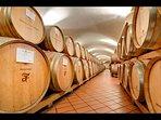 Estate's Wine Barrells detail