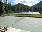 Guests enjoy access to the common tennis courts