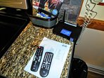 High speed Internet (City Net) and HDTV (DISH Network) - both included in your rental!