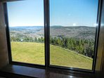 ML278 master bedroom enjoys views of mountains and Shavers Lake