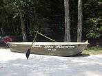 The Row boat you can use during your stay
