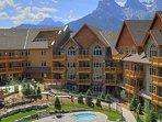 Stoneridge Mountain Resort is set amidst a beautiful mountain backdrop