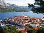 Korcula old town (45 min drive from the apartment)