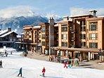 Ski straight to your door.