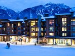 The beautiful Sutton Place in Revelstoke