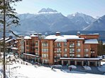 Sutton Place is ideally located at the base of Revelstoke Mountain Resort