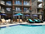 Enjoy the year-round outdoor heated pool