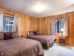 Bedroom #1 with two queen beds