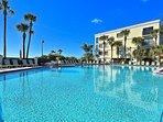 Beautiful large pool area