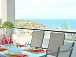 Huge terrace( 55m² or 592ft²) ,with breathaking views!