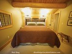 The house comfortably sleeps up to twelve people, offering three king bed sleeping areas, plus a separate bunk room...