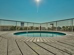 gated TODDLER pool - not hot tub