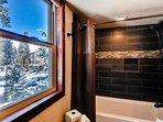 Beautiful Renovated Bath w new Cabinet, Granite Countertop, Sink, Mirror, Medicine Cabinet, Lights, Tub/Shower, Tile...