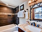 Main Floor Master Bath – Brand New Fall of 2016 and Eye Popping!