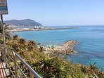 Beach in Imperia (porto Maurizio) - 20 mins away
