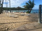 Most beautiful beach in Puerto Rico(used on cover of Frommers Guide to puerto Rico)