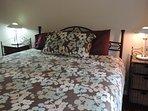 Quality queen bed in main bedroom
