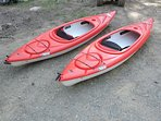 Rent a kayak or electric motor boat