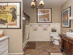 Renovated large bathroom