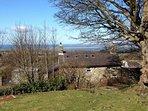 Rear view of Hafod Boeth