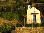 The tiny sant'Antonio chapel, 200 m from the house