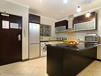 Well equipped kitchen for self-catering with washing machine