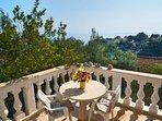 Terrace, Holiday home Pupa, Sumartin, Brac Island