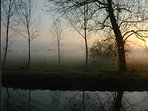 Early morning on the canal.