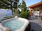 Teracce with sea view and hot tube