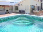 A109759| Beautiful 4 Bedroom Villa. Private Heated Pool. Las Americas. Air Con.