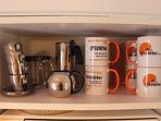 Espresso or filter coffee.