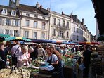 Saturday morning market Beaune, a 'must do'.
