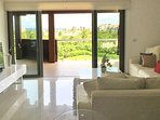 Living Room & Terrace