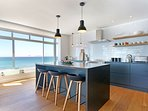 Even the kitchen has a sea view
