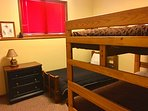 The Ski Room (2 full bunk beds and a twin)