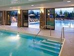 Relax in the resort's stunning indoor or outdoor pool