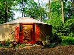 Forest Garden Shovelstrode, Kushti Yurt