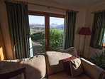 Great views from every window. Super comfy sofas to relax on.