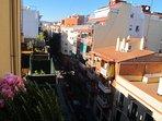 Balcony, view to Tibidabo