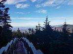 Killington Peak walkway