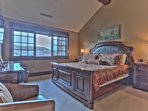 Master Bedroom Suite with King Bed, 50' HD Smart TV, Private Bath