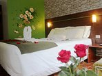 You can upgrade your Mini Suite per honeymoons or any aniversary. Have to be request.