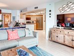 You'll love the open and airy concept of this condo.