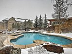 Take a dip in the heated community pool.