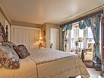 Drift off to dreamland in classic luxury in this beautiful master bedroom.