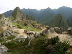 Main View of Machu Picchu Wonder World; we are located at the previous of village
