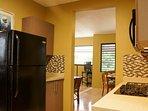 Level Kitchen (gas range, dishwasher, microwave & full size fridge