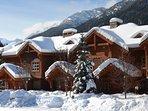 Lovely mountain townhomes set amongst a scenic landscape
